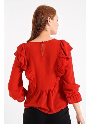Jument Bluz Kırmızı